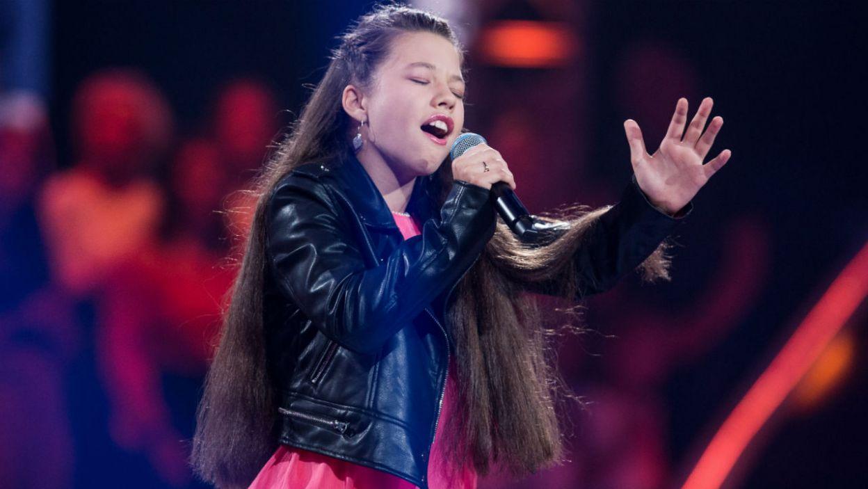Agnieszka rozbujała publiczność swoim występem (fot. J. Bogacz/TVP)