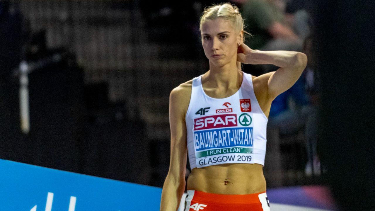 """Lekkoatletyka: Iwona Baumgart: """"Aniołki"""" balansują na granicy kontuzji Achillesa (sport.tvp.pl)"""