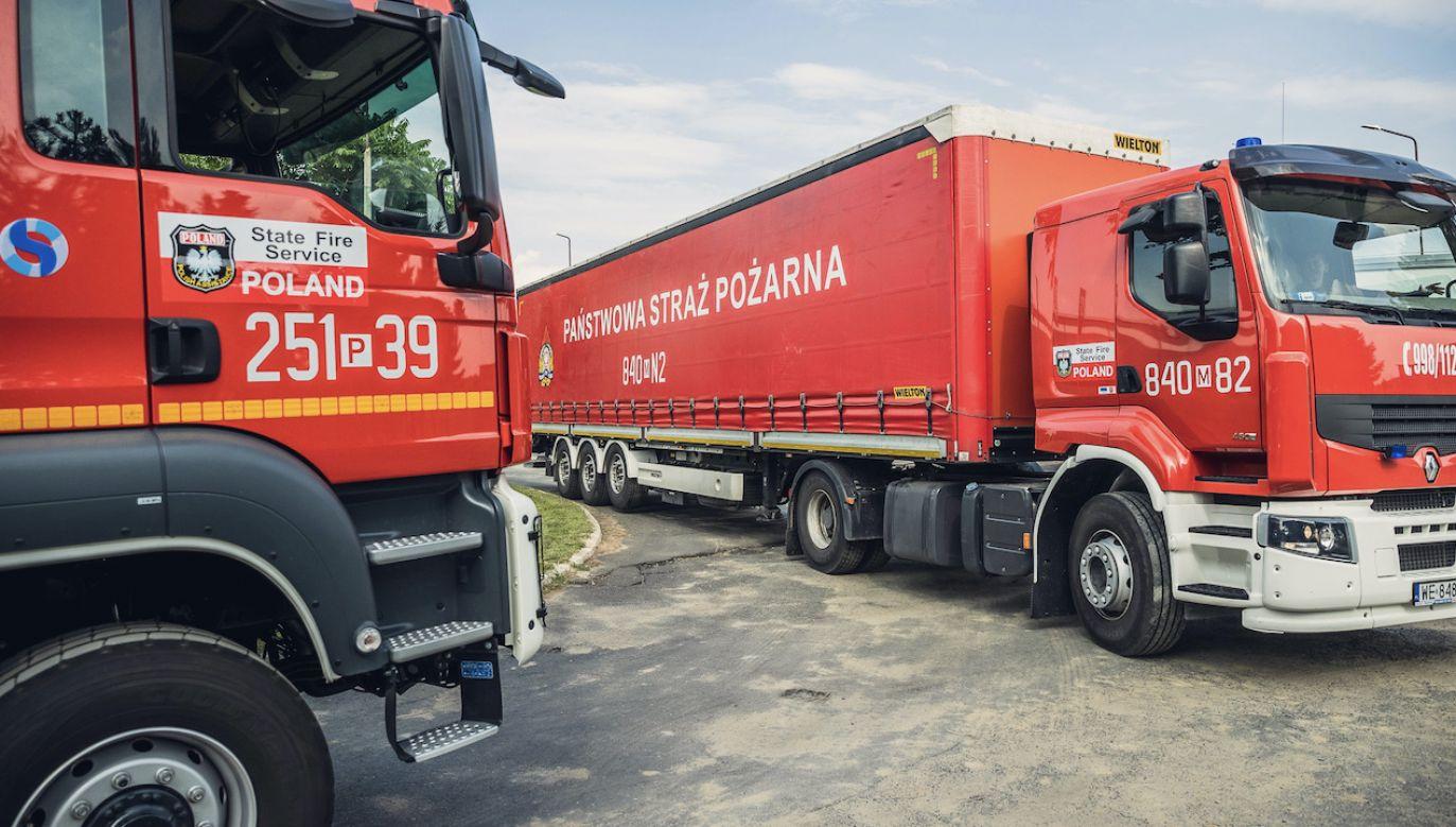 Polscy strażacy od lat uczestniczą w akcjach ratowniczych na całym świecie (fot. kpt.Piotr Zwarycz/PSP)