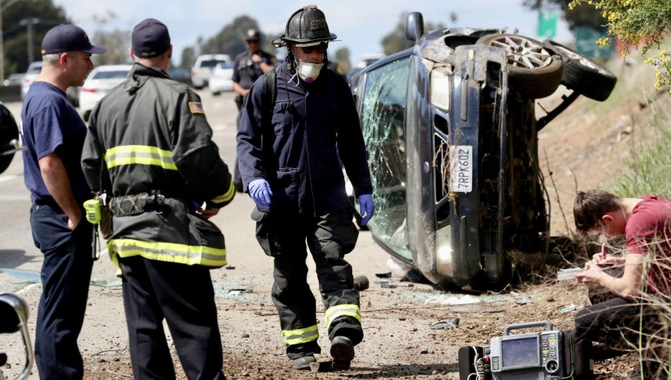 Tragiczny wypadek drogowy w Kalifornii (fot. J.Tyska/Digital First Media/East Bay Times/Getty Images, zdjęcie ilustracyjne)