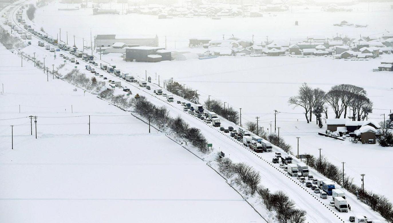 Do szpitala przewieziono osiem osób (fot. Kyodo News via Getty Images)