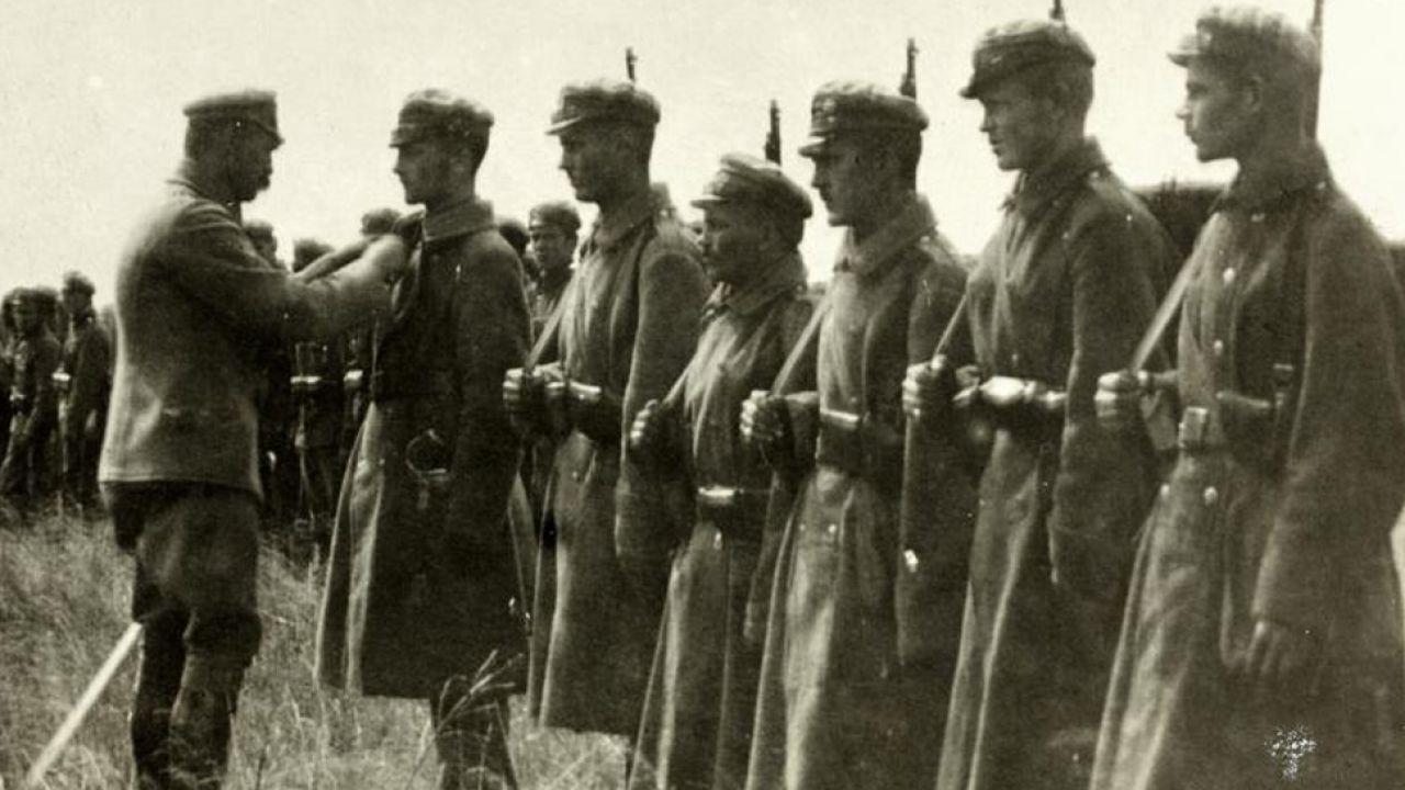 """""""My pierwsza brygada, strzelecka gromada"""" (fot.Wikipedia/nieznany)"""