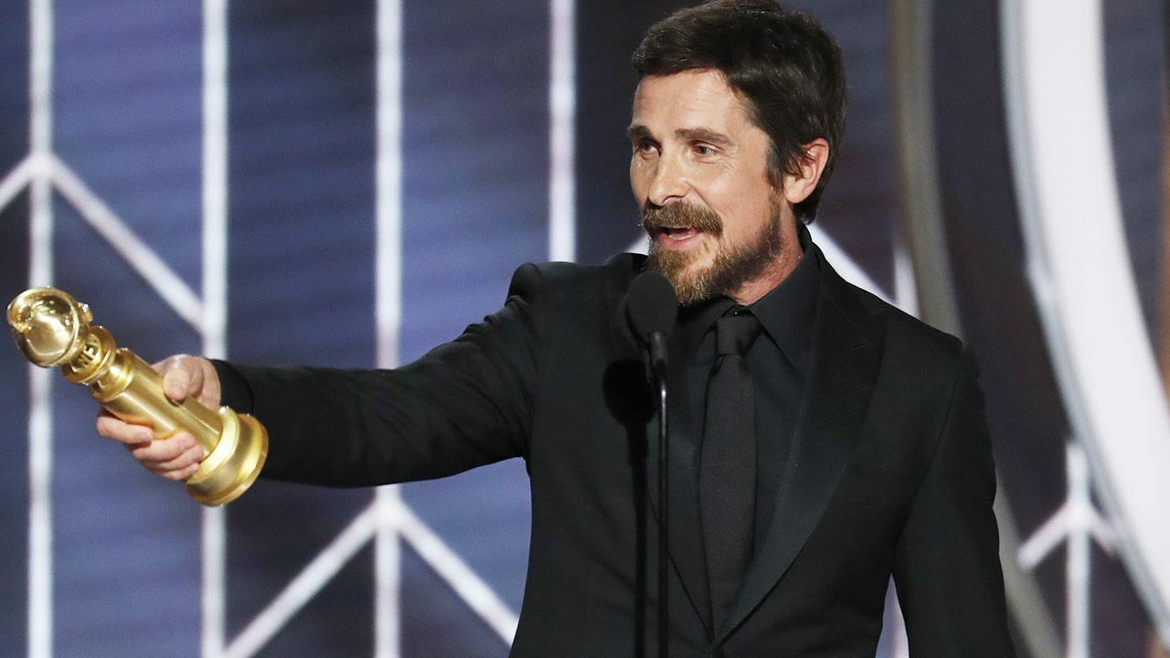 """Christian Bale został nagrodzony za wcielenie się w rolę Dicka Cheneya w filmie """"Vice"""" (fot. Paul Drinkwater/NBCUniversal via Getty Images)"""