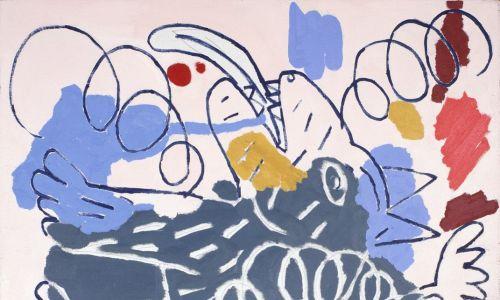 Odtworzenia jego ulubieńców nigdy nie są realistyczne, chociaż sylwetki można bez trudu rozpoznać. Praca Ryszarda Grzyba. Fot. zacheta.art.pl