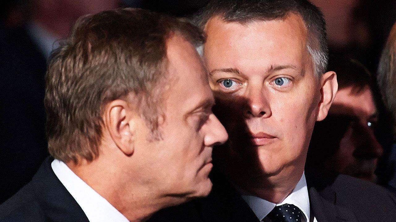 Donald Tusk i Tomasz Siemoniak (fot. arch.PAP/Adam Warżawa)
