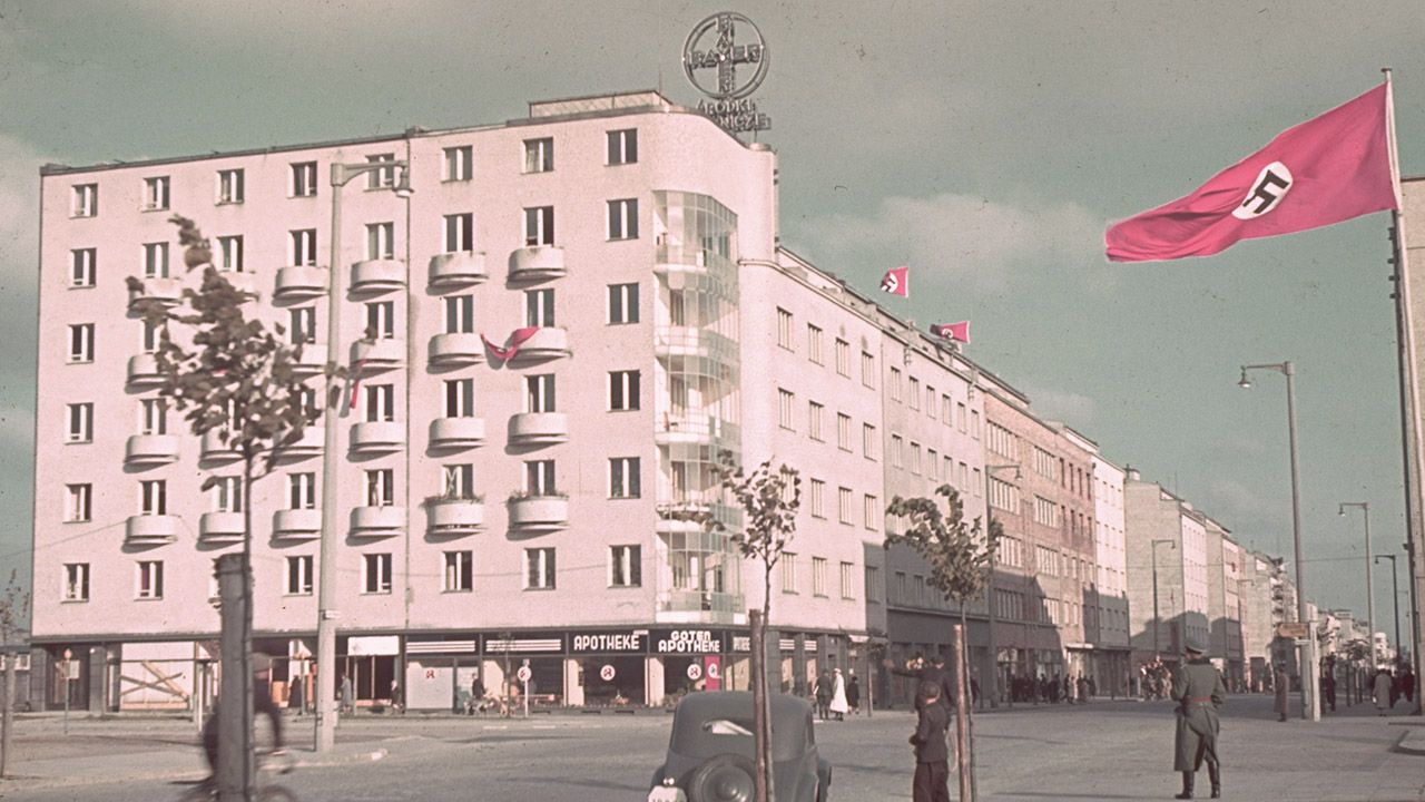 Gdynia w czasach okupacji (fot. Hugo Jaeger/Timepix/The LIFE Picture Collection/Getty Images)