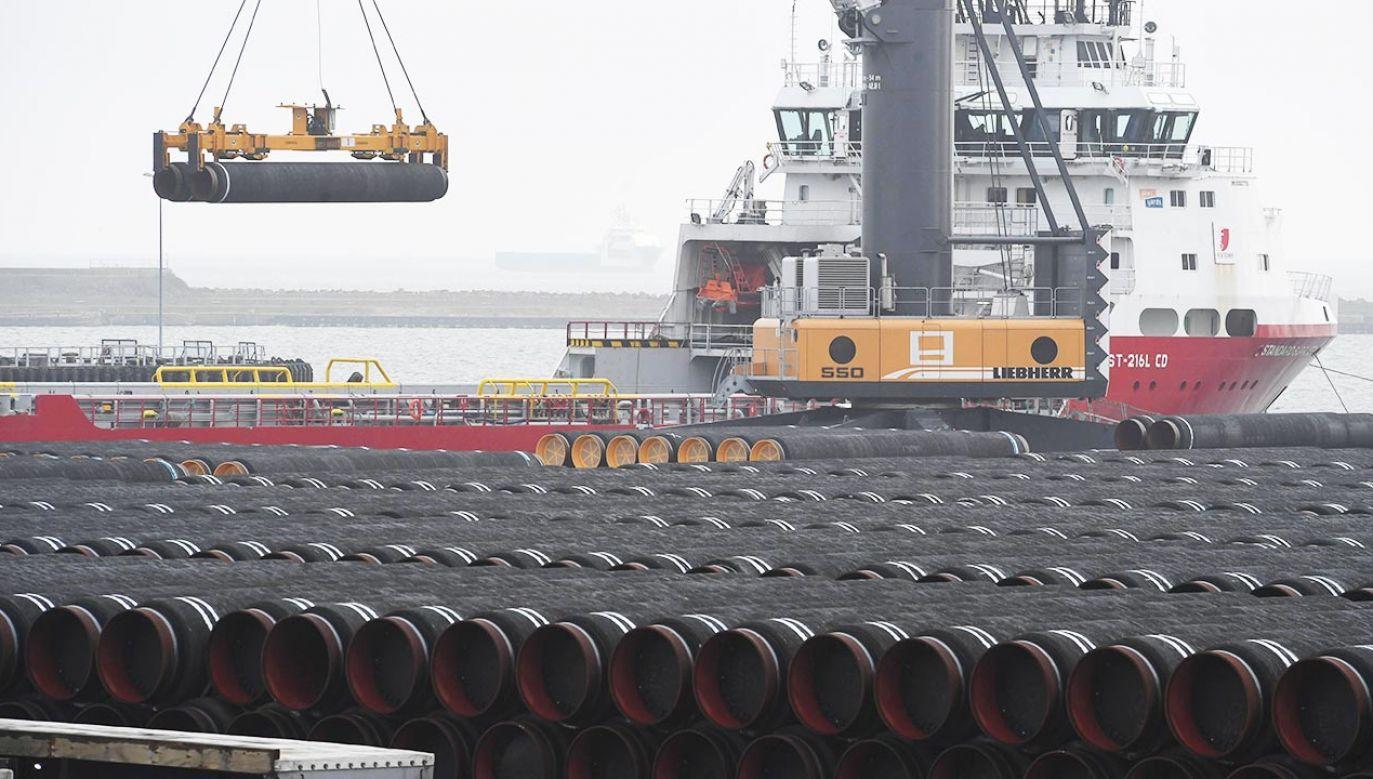 Europejskie firmy nadal wspierają projekt Nord Stream 2 (fot.  PAP/Stefan Sauer/dpa-Zentralbild/dpa)