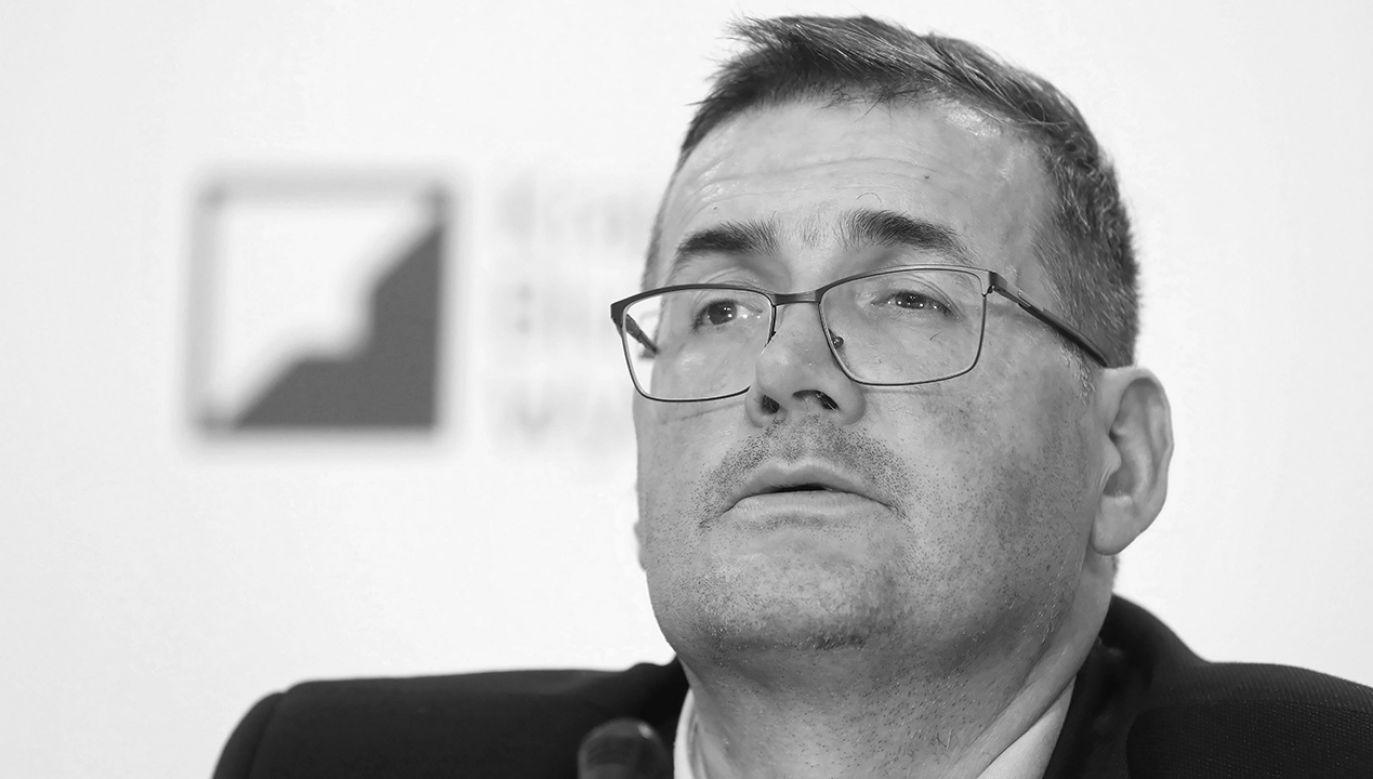 Sędzia Grzegorz Jędrejek zmarł 19 stycznia w wieku 46 lat (fot. arch. PAP/Rafał Guz)