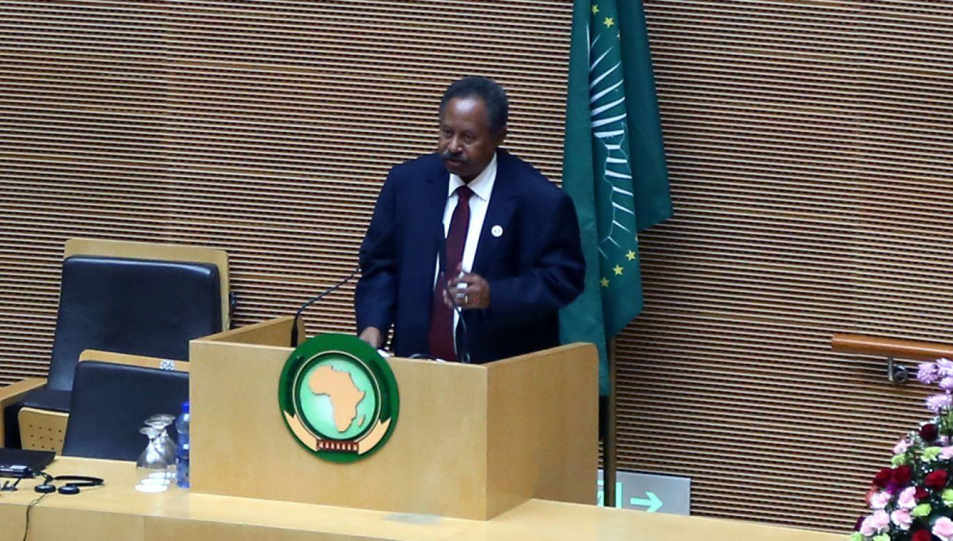 Abdalla Hamdok pełnił funkcję zastępcy sekretarza wykonawczego Komisji Gospodarczej Narodów Zjednoczonych ds. Afryki(fot. Minasse Wondimu Hailu/Anadolu Agency/Getty Images)