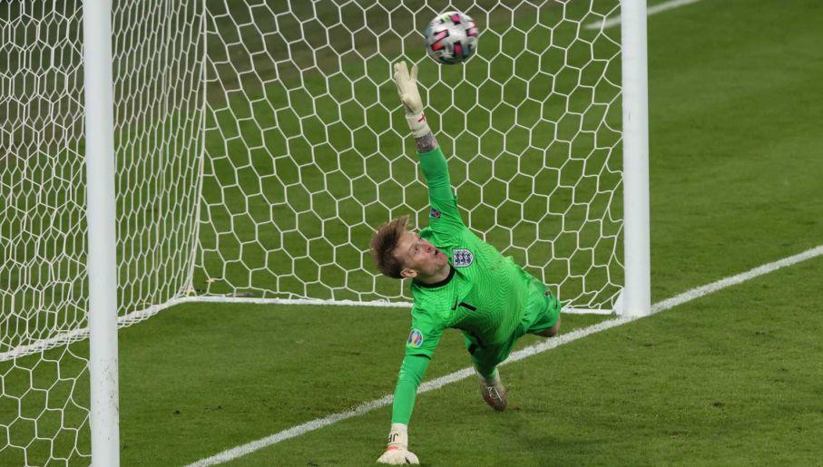 Jordan Pickford rozegrał jeden z najlepszych meczów w karierze (fot. Getty Images)