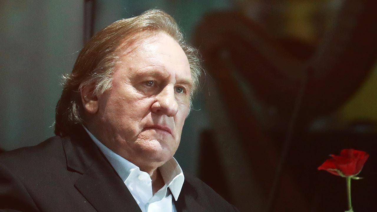 Gerard Depardieu zaprzecza oskarżeniom (fot. Sergei Fadeichev\TASS via Getty Images)