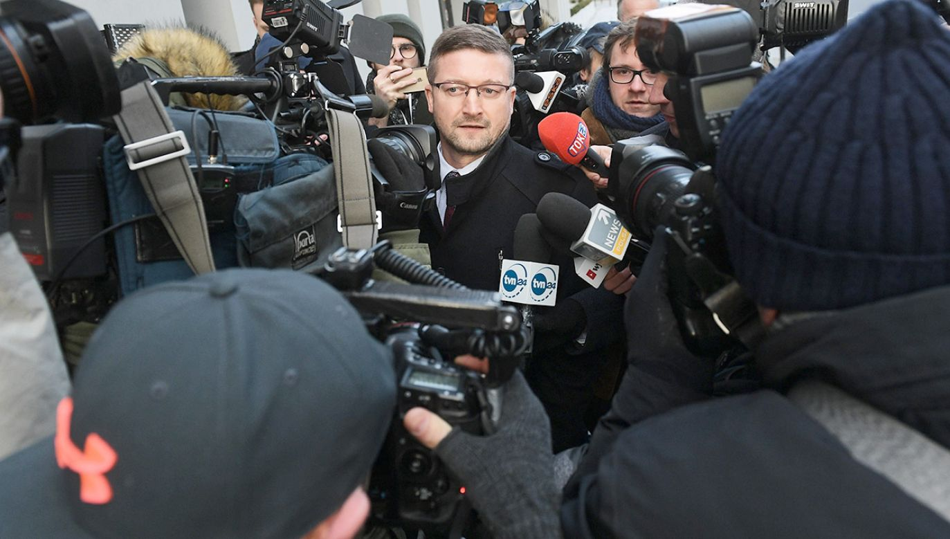 Na delegację Juszczyszyna nie zgodził się wcześniej prezes Sądu Rejonowego w Olsztynie Maciej Nawacki (fot. PAP/Marcin Obara)