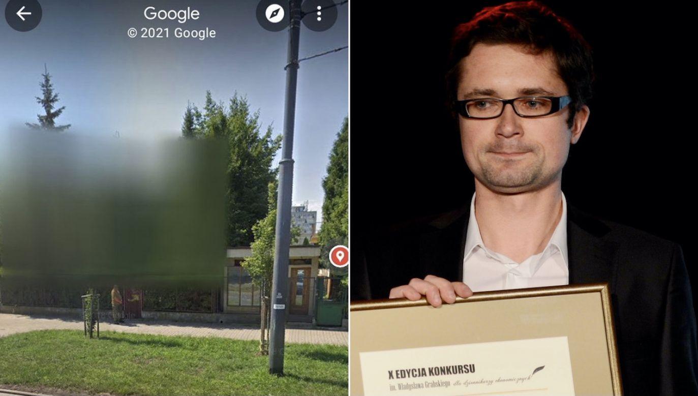 Wpis Szymona Jadczaka robi furrorę w sieci (fot. tt/ @SzJadczak, arch.PAP/Bartłomiej Zborowski