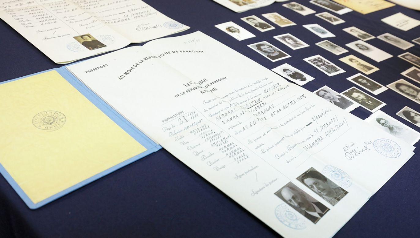Dzięki fałszywym dokumentom wystawionym przez polskich dyplomatów Holocaust przeżyły tysiące Żydów (fot. arch. PAP/Paweł Supernak)