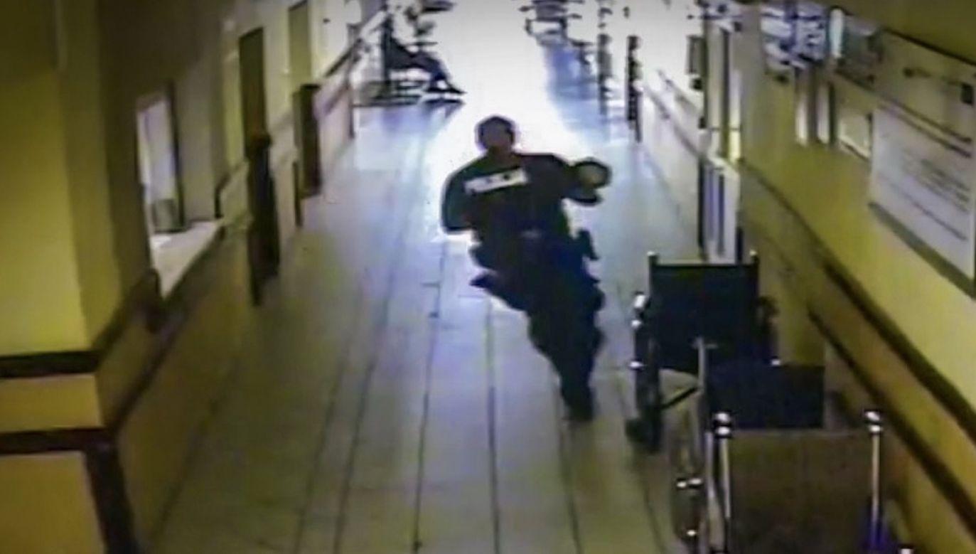 Dziesięciomiesięczny chłopczyk był siny i tracił przytomność (fot. Policja lubuska)