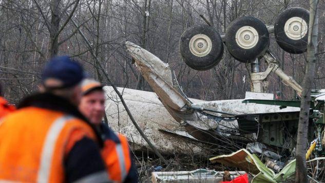 11 lat po katastrofie smoleńskiej (fot. PAP/EPA/SERGEI CHIRIKOV)