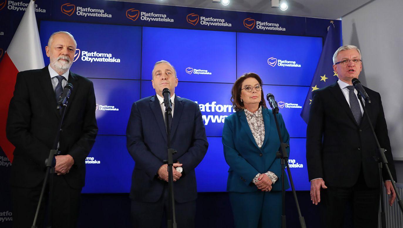 Ewentualny następca Grzegorza Schetyny zostanie wybrany (podobnie jak obecny lider w 2016 r. i Donald Tusk w 2013 r.) w drodze wyborów bezpośrednich (fot. arch. PAP/Leszek Szymański)