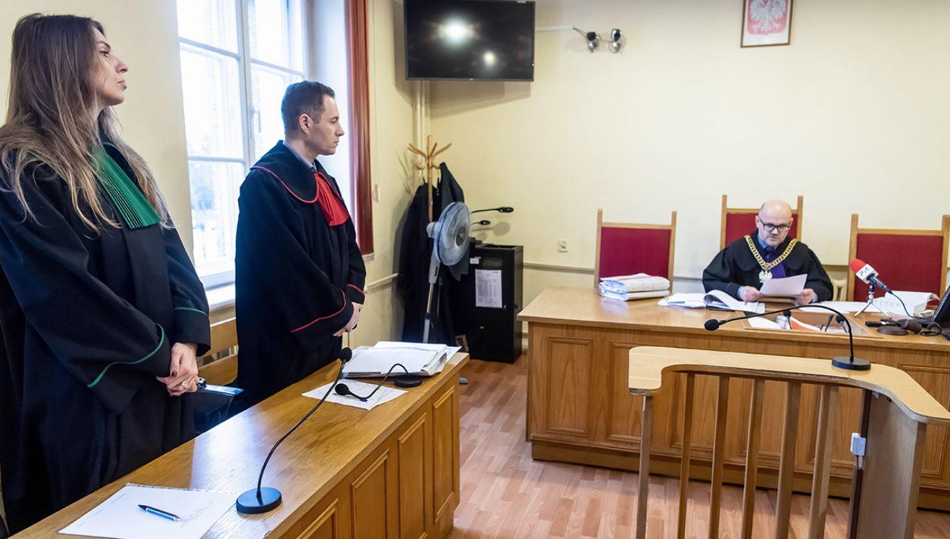 Sąd w Toruniu wydał wyroki m.in. w sprawie zniesławienia w Jerzego Owsiaka i dyrektora Radia Maryja (fot. PAP/Tytus Żmijewski)