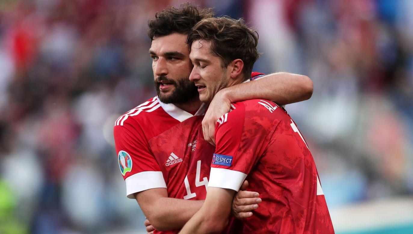 Gieorgij Dzykija i Aleksiej Miranczuk (fot. Getty Images)