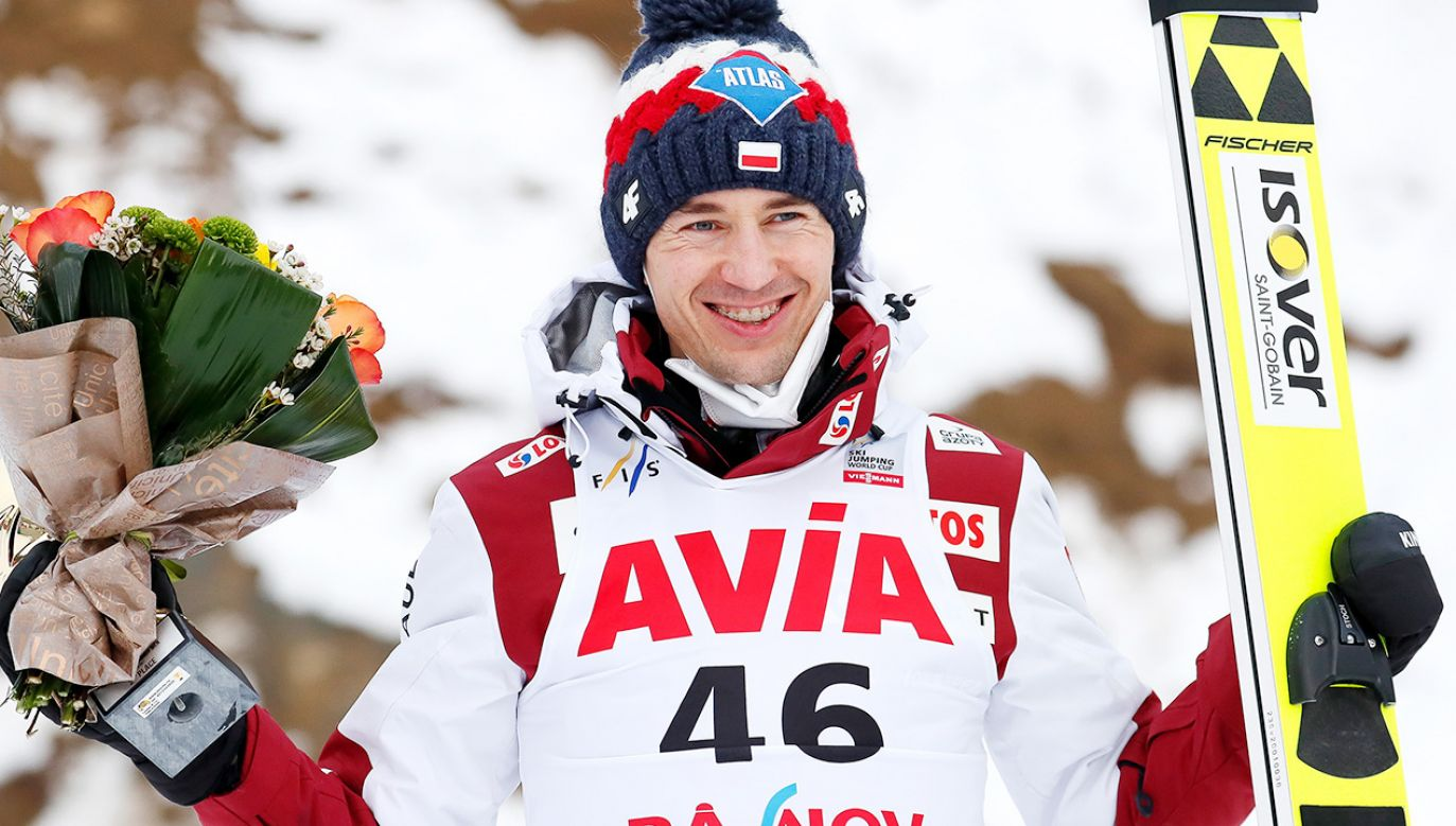 Kamil Stoch (fot. PAP/EPA/ROBERT GHEMENT)
