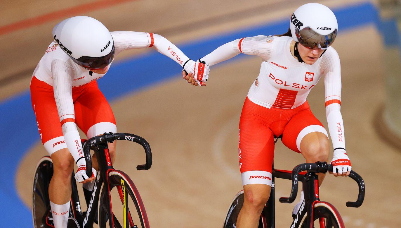 Madison kobiet po raz pierwszy znalazł się w programie olimpijskim (fot. Getty)