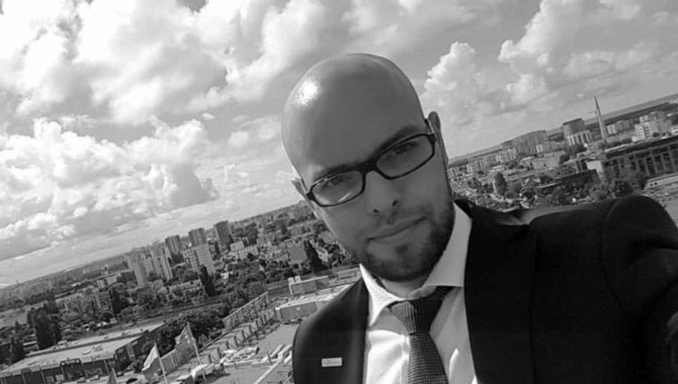 Dawid Krupej należal do najaktywniejszych radnych obecnej kadencji (fot. Twitter/PiS Gdańsk)