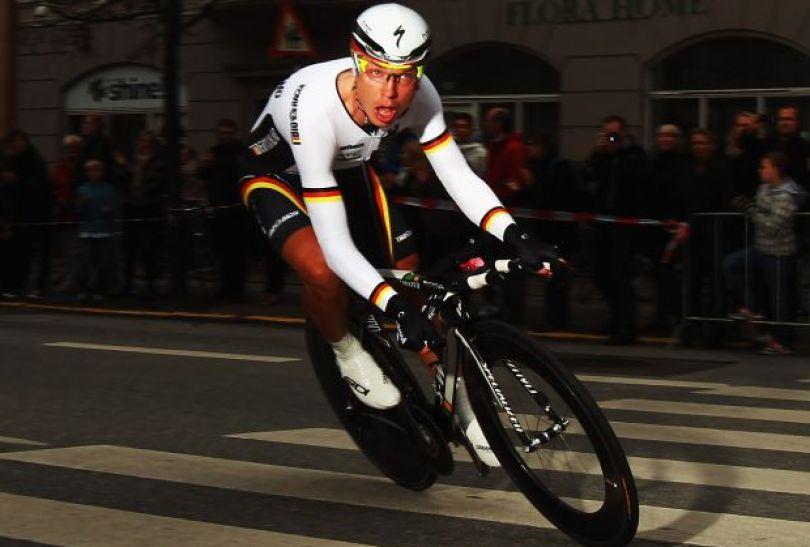 Tony Martin zdobył w 2011 roku tytuł mistrza świata w jeździe indywidualnej na czas (fot. Getty Images)