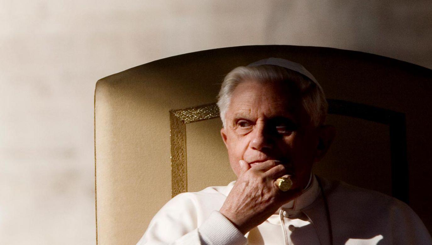 Benedykt XVI (fot. Alessandra Benedetti/Corbis via Getty Images)