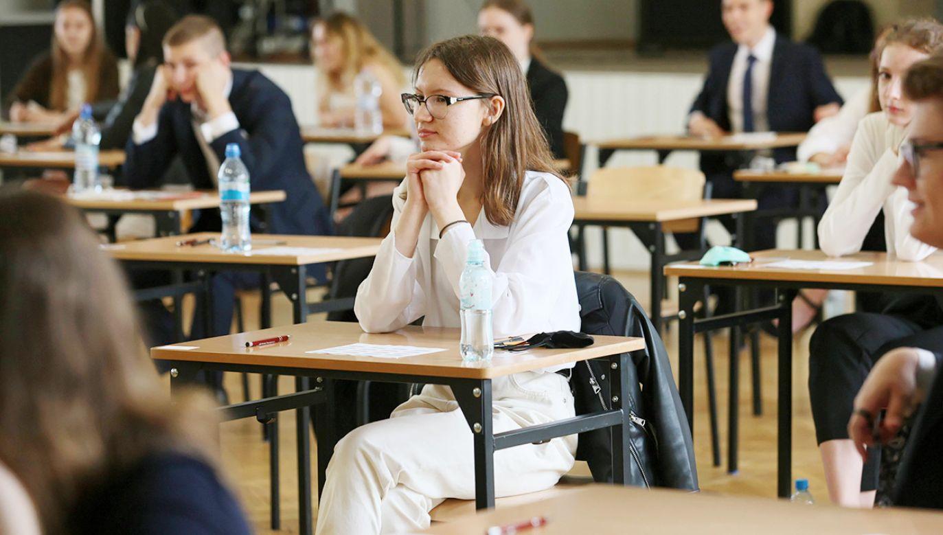 Próbne matury potrwają do 16 marca (fot. PAP/Lech Muszyński)