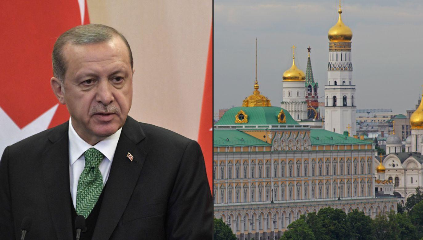 Prezydent Turcji Recep Erdogan zapowiada wizytę w Moskwie (fot. Wikimedia Commons/A.Savin)