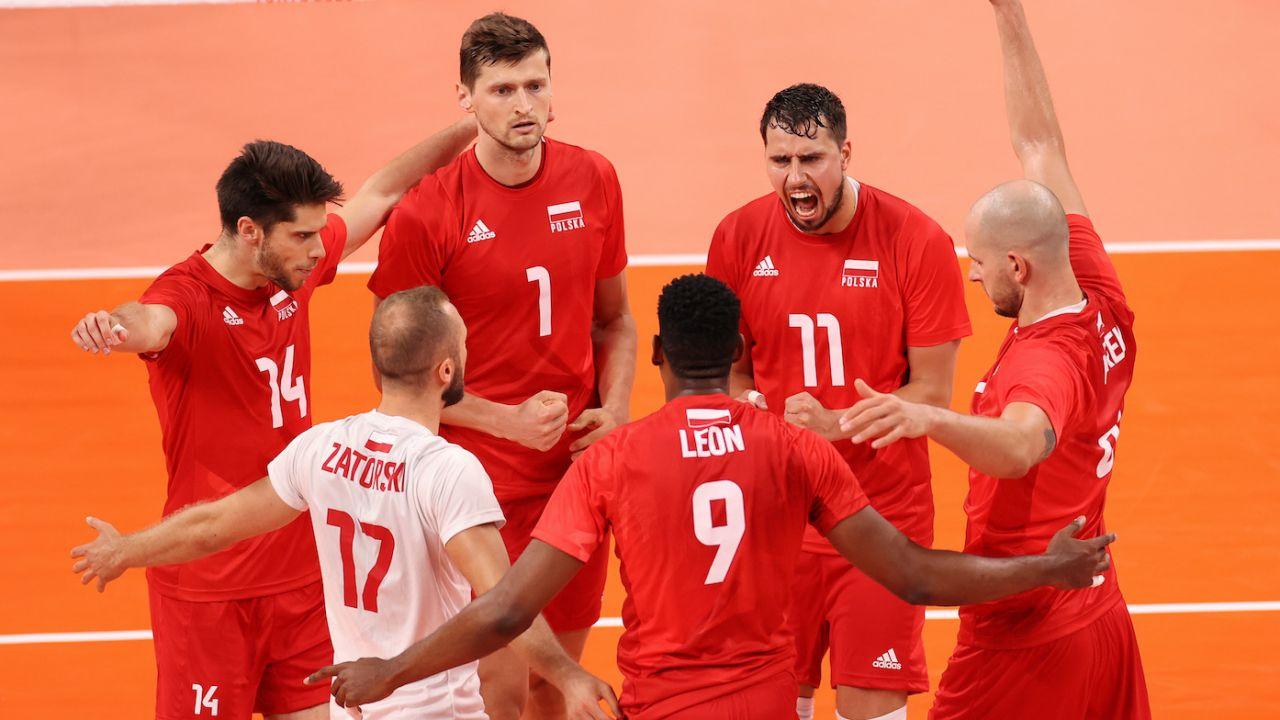 Po słabym meczu z Iranem, Polacy znów weszli na wysoki poziom (fot. Getty Images)