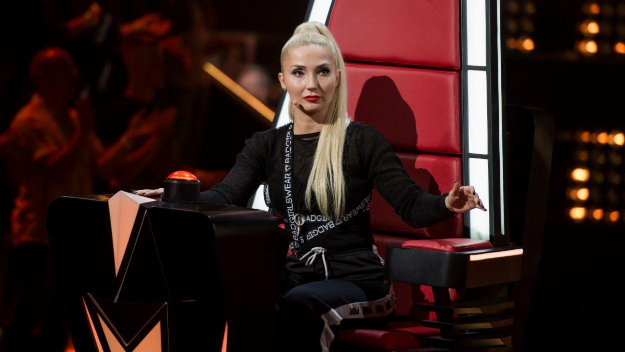 Występ Julki wywołał w Cleo wiele emocji. – To było dla mnie mega trudne, pierwszy raz się nie odwrócić – powiedziała (fot. J. Bogacz/TVP)