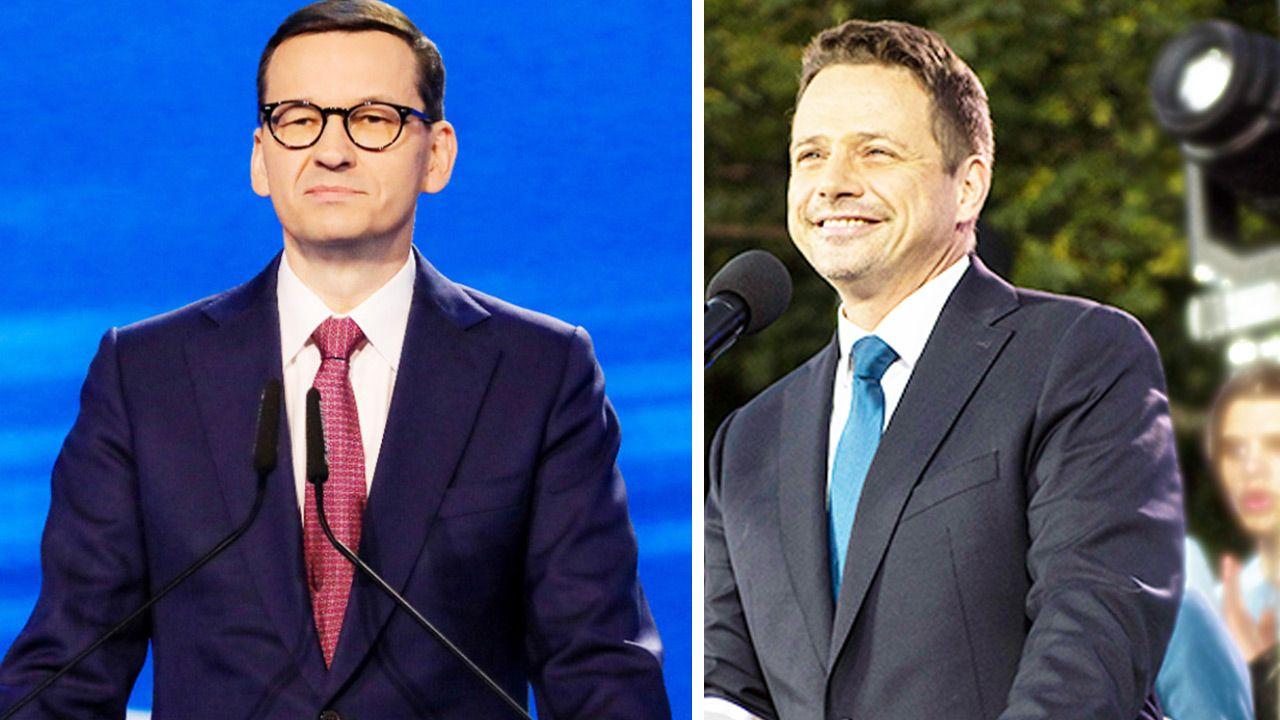 W którym miejscu są dziś obydwa ugrupowania? (fot. TT; Prawo i Sprawiedliwość/Getty Images)