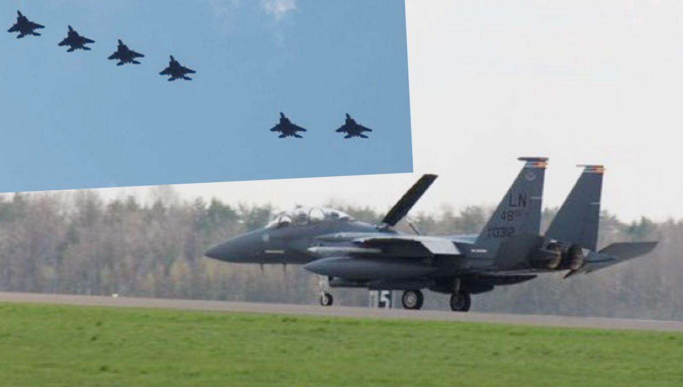 To kolejna zmiana wspólnego szkolenia Aviation Detachment (fot.TT/Mariusz Błaszczak)