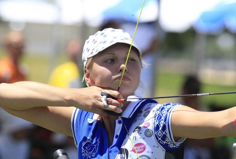 W Ogden o kwalifikacje olimpijską rywalizowały też panie. Na zdjęciu Reena Parnat z Estonii (fot. Getty Images)