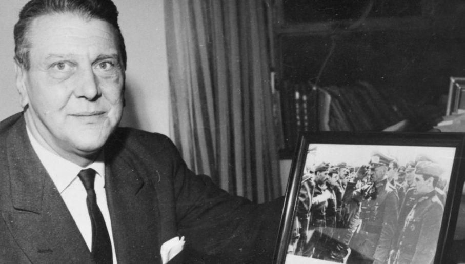 Otto Skorzenny nigdy nie potępił nazizmu (fot. Wiki)