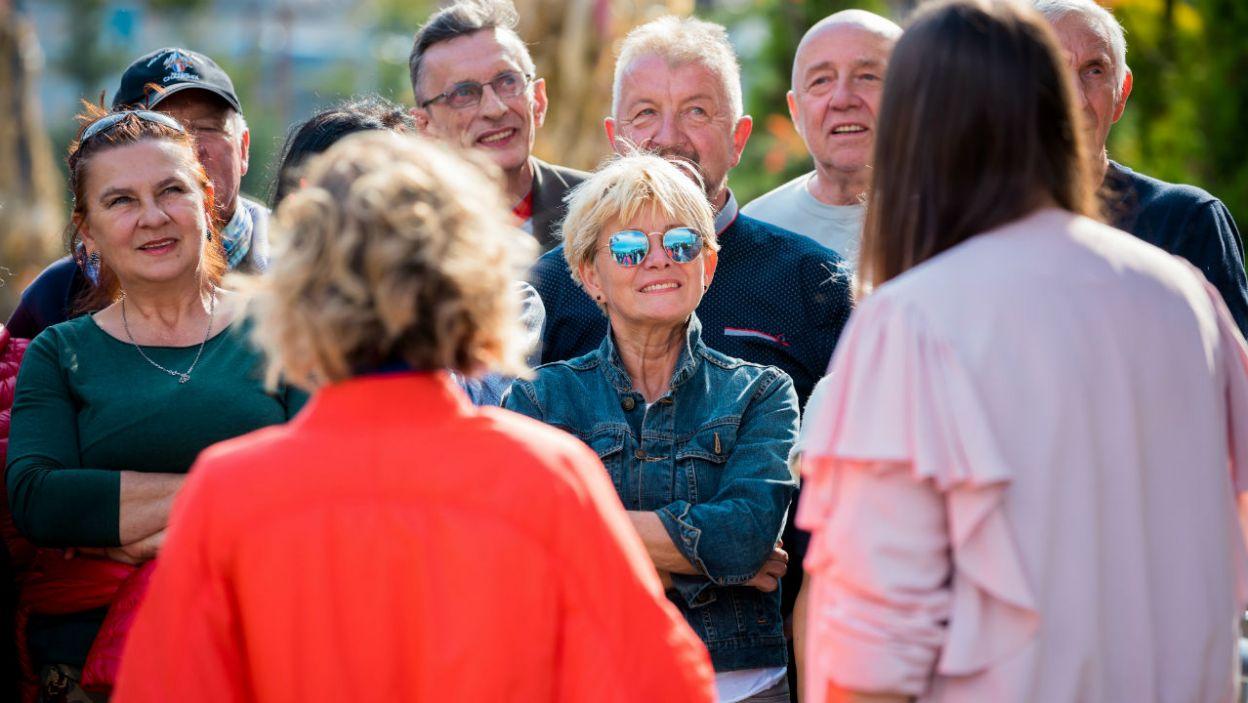 Tym razem dla seniorów przygotowana została wyjątkowa atrakcja. Park rozrywki nie wszystkim przypadł jednak do gustu (fot. TVP)