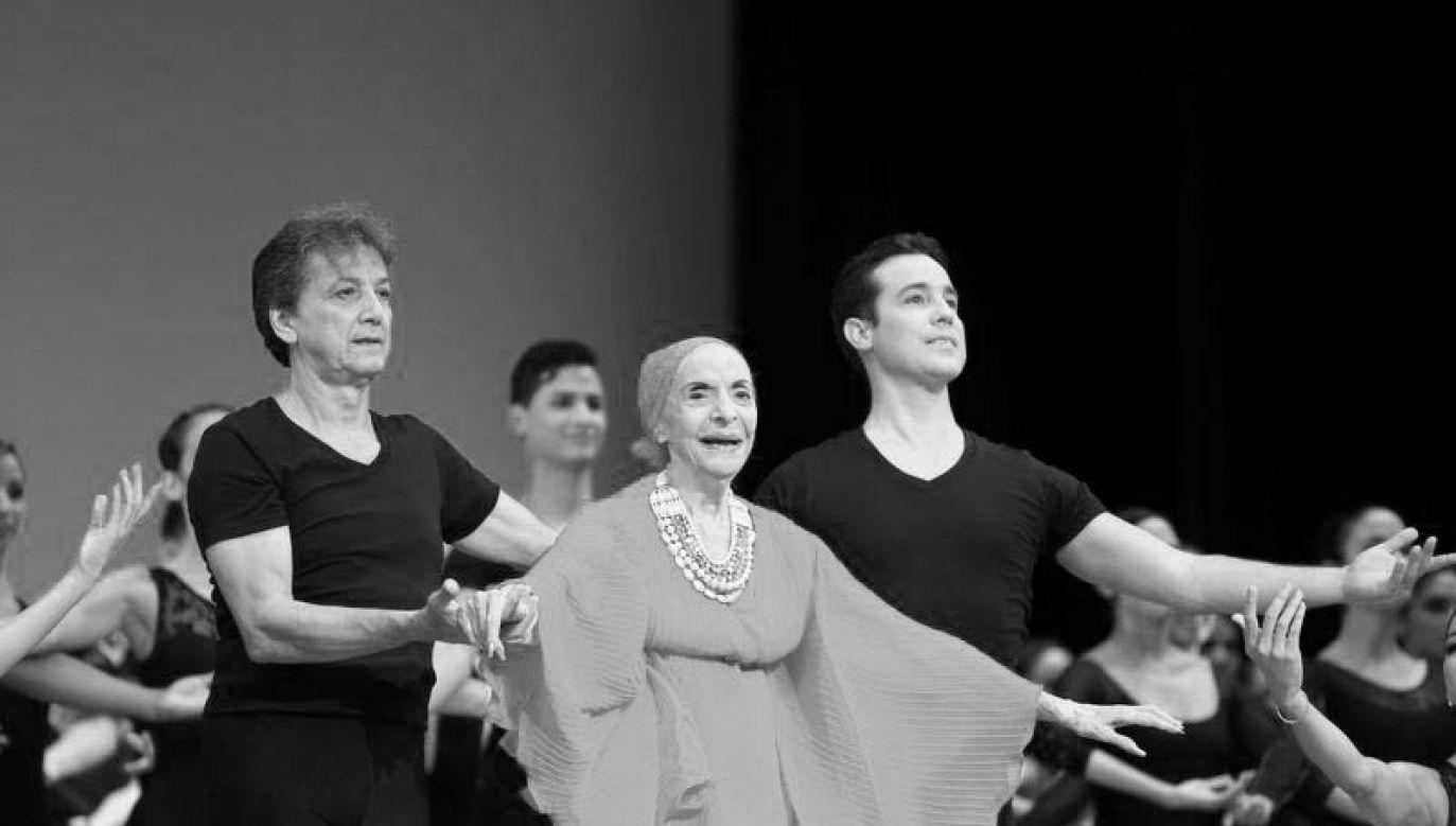 W latach 40. i 50. ubiegłego wieku była jedną ze wschodzących, młodych gwiazd Amerykańskiego Teatru Baletu w Nowym Jorku (fot. REUTERS/Alexandre Meneghini)