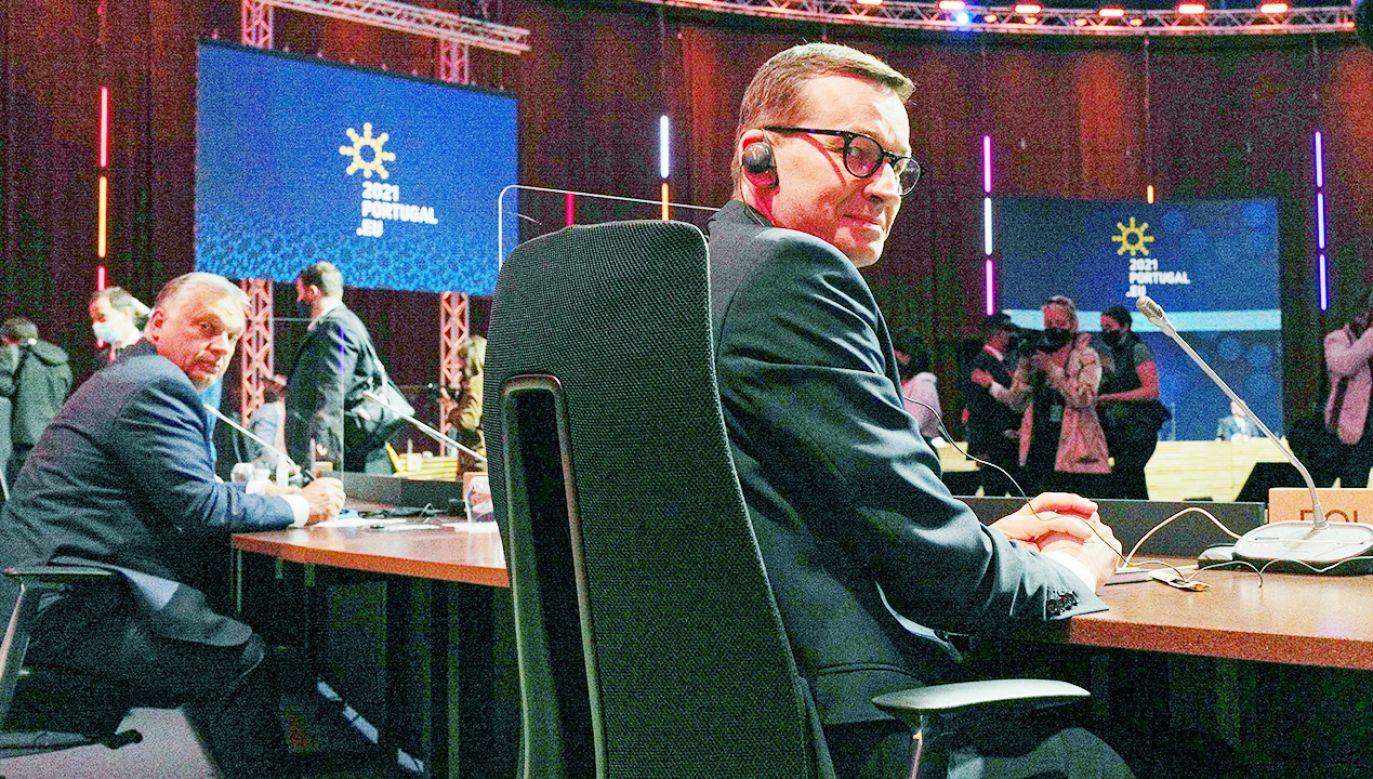 Europejscy partnerzy społeczni spotkali się z przywódcami Unii Europejskiej (fot. PAP/Mateusz Marek)
