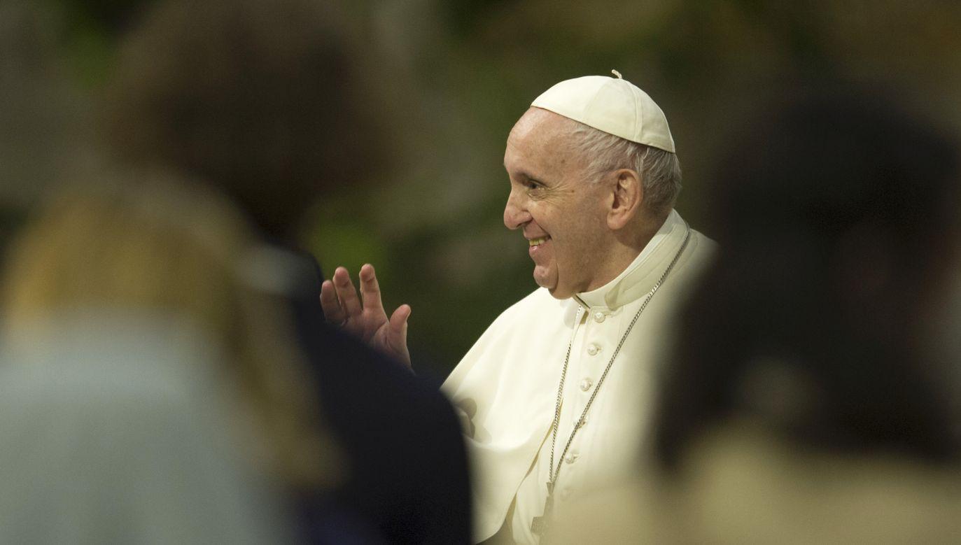 Papież Franciszek zwrócił się do Polaków (fot. Vatican Pool/Getty Images)