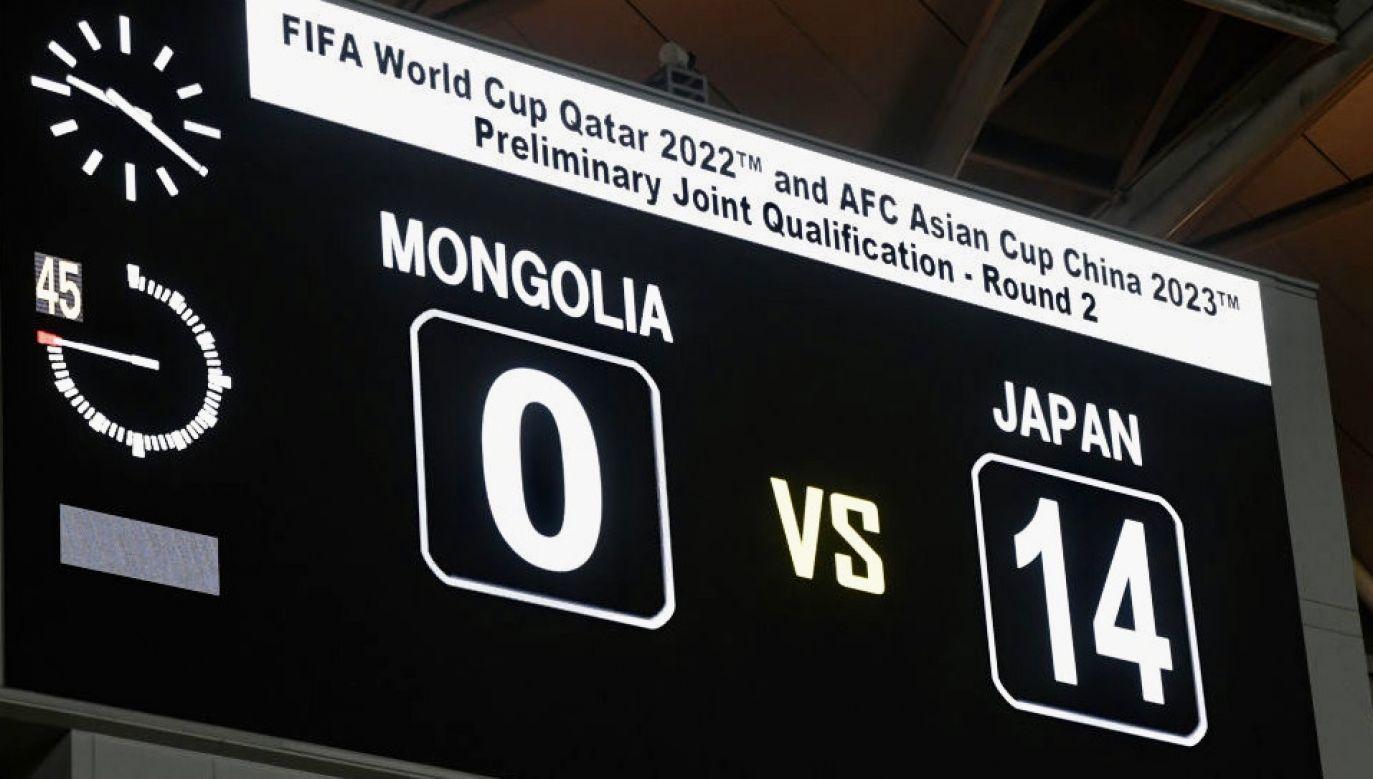 Takim wynikiem zakończył sięmecz eliminacji w Azji (fot. Kaz Photography/Getty Images)