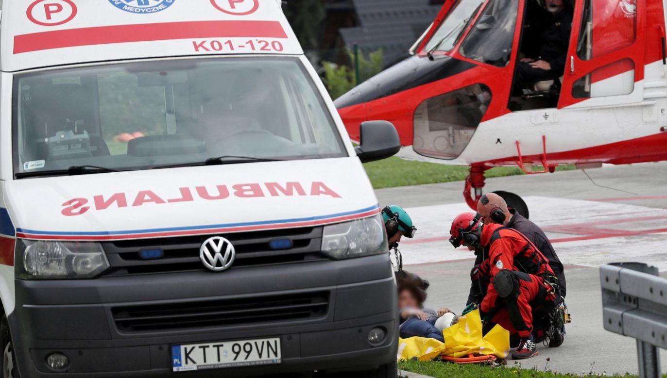 Podczas czwartkowej burzy w Tatrach zostało poszkodowanych ponad 140 turystów (fot. PAP/Grzegorz Momot)