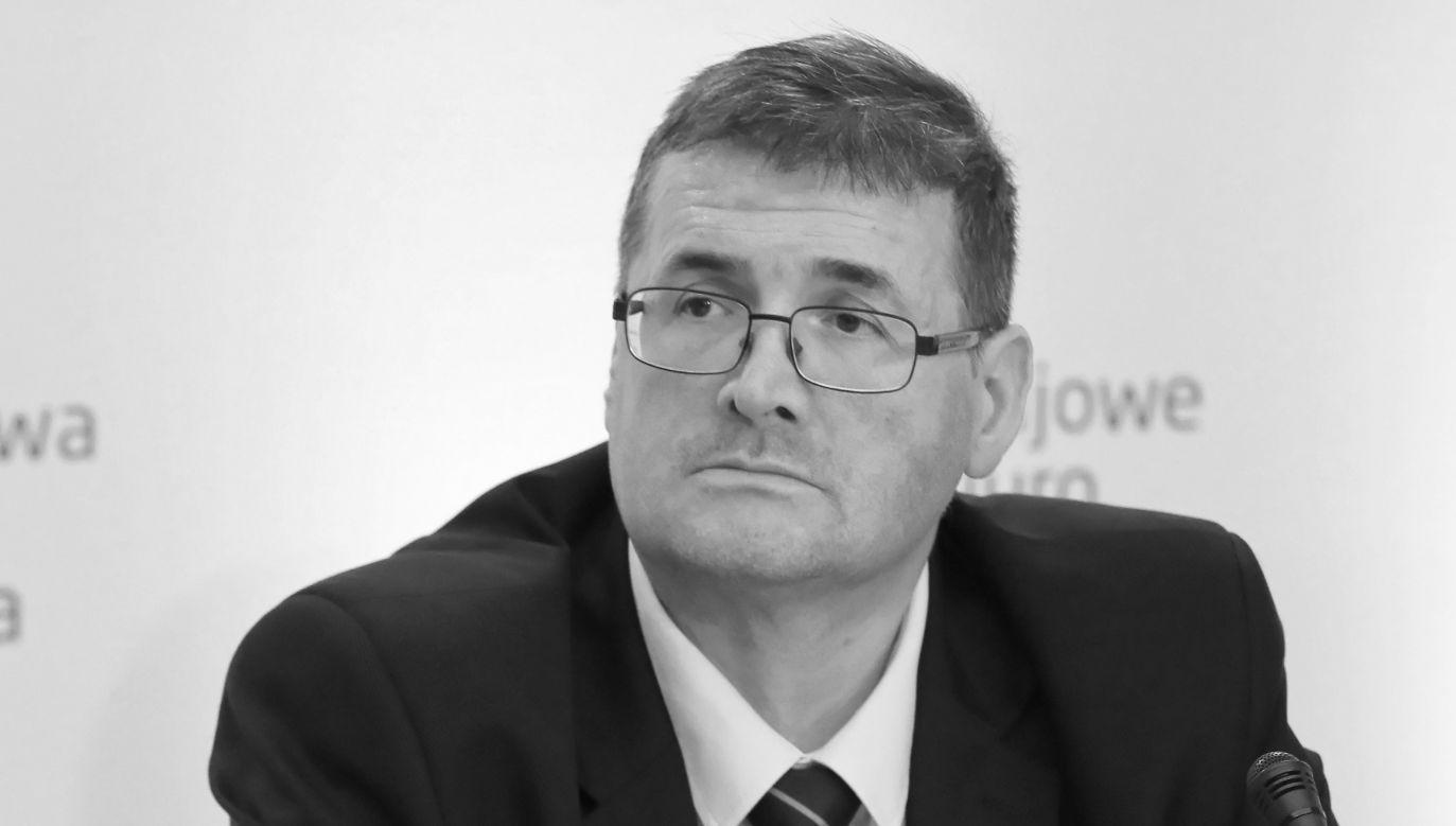 Grzegorz Jędrejek miał 46 lat (fot. PAP/Paweł Supernak)