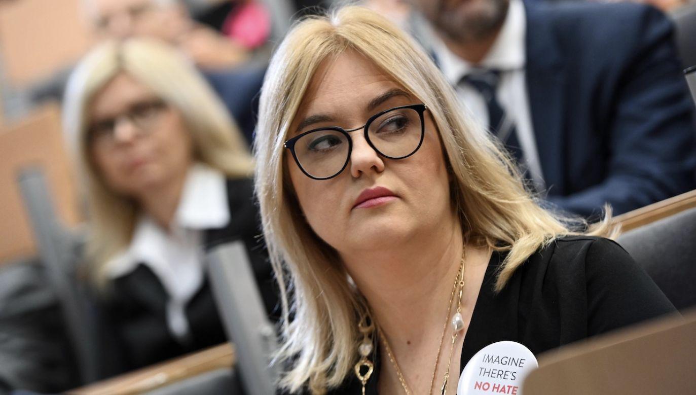 Z informacji przekazanych przez Prokuraturę Krajową wynika, że Magdalena Adamowicz w zeznaniach podatkowych za lata 2011-2012 miała zataić odpowiednio prawie 300 tys. zł. i 100 tys. zł dochodów (fot. arch.PAP/Jan Dzban)