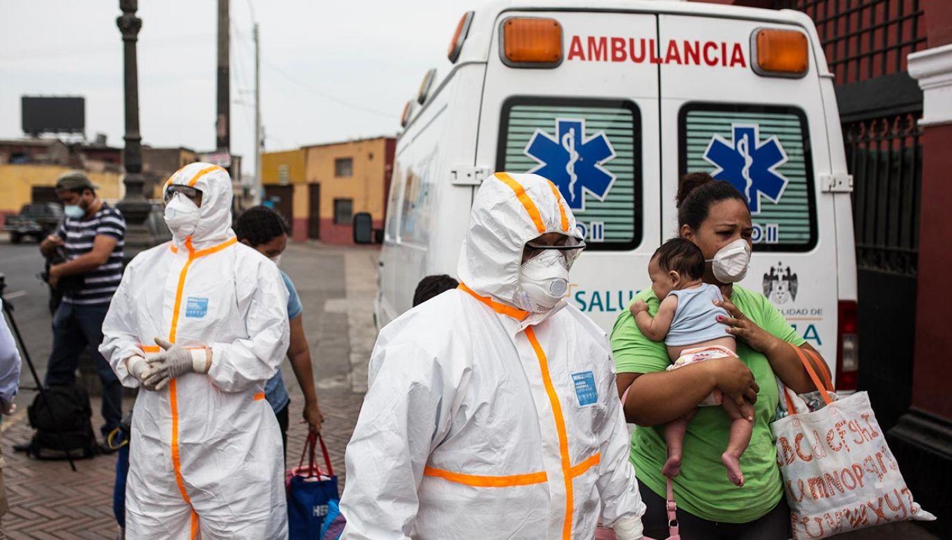 Pandemia koronawirusa w Ameryce Łacińskiej (fot. Sergi Rugrand/SOPA Images/LightRocket via Getty Images)