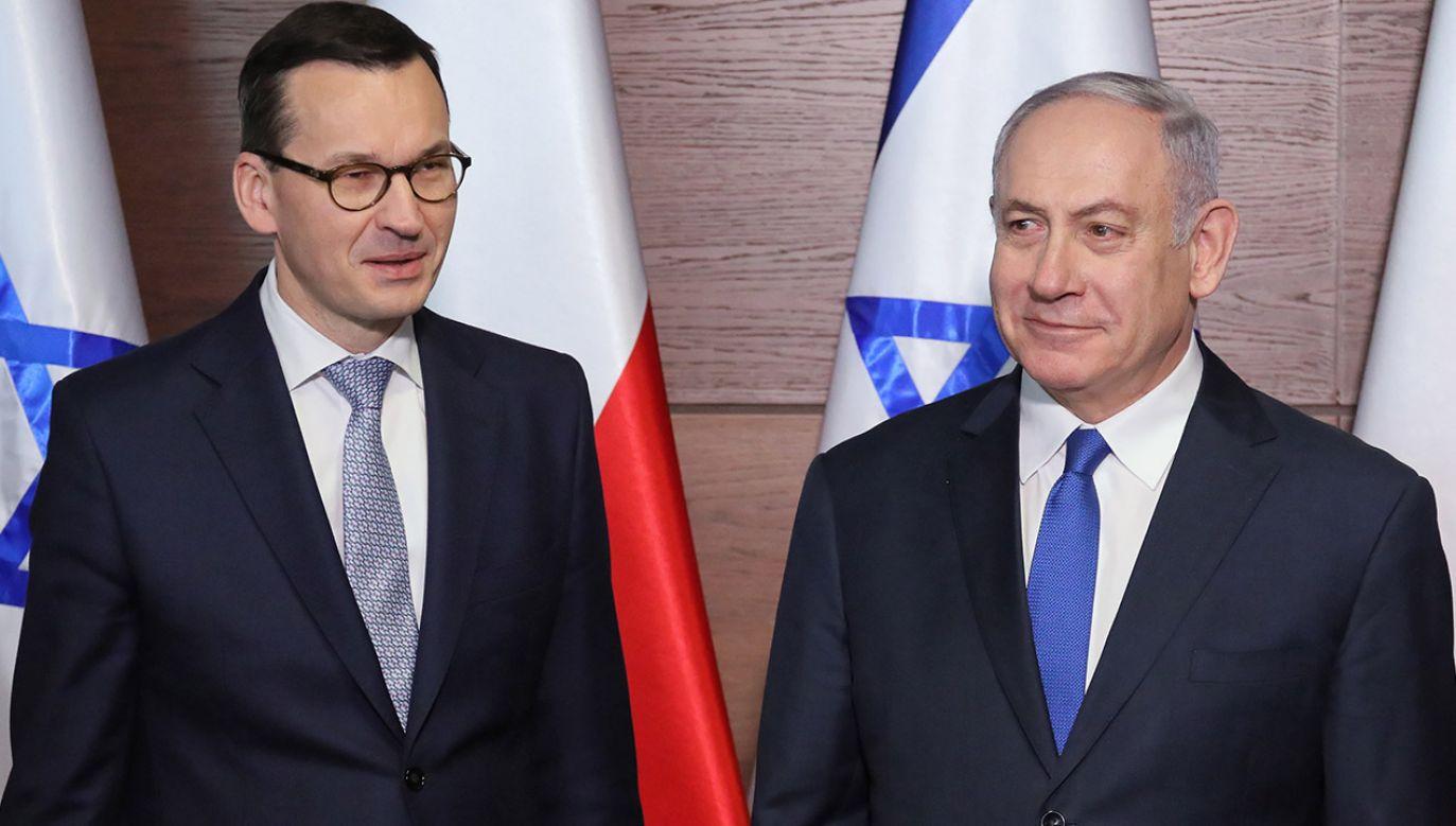 Były marszałek Sejmu przypomniał słowa polityka Konfederacji, że polityka historyczna Polski jest sprzeczna z izraelską (fot. arch.PAP/Paweł Supernak)