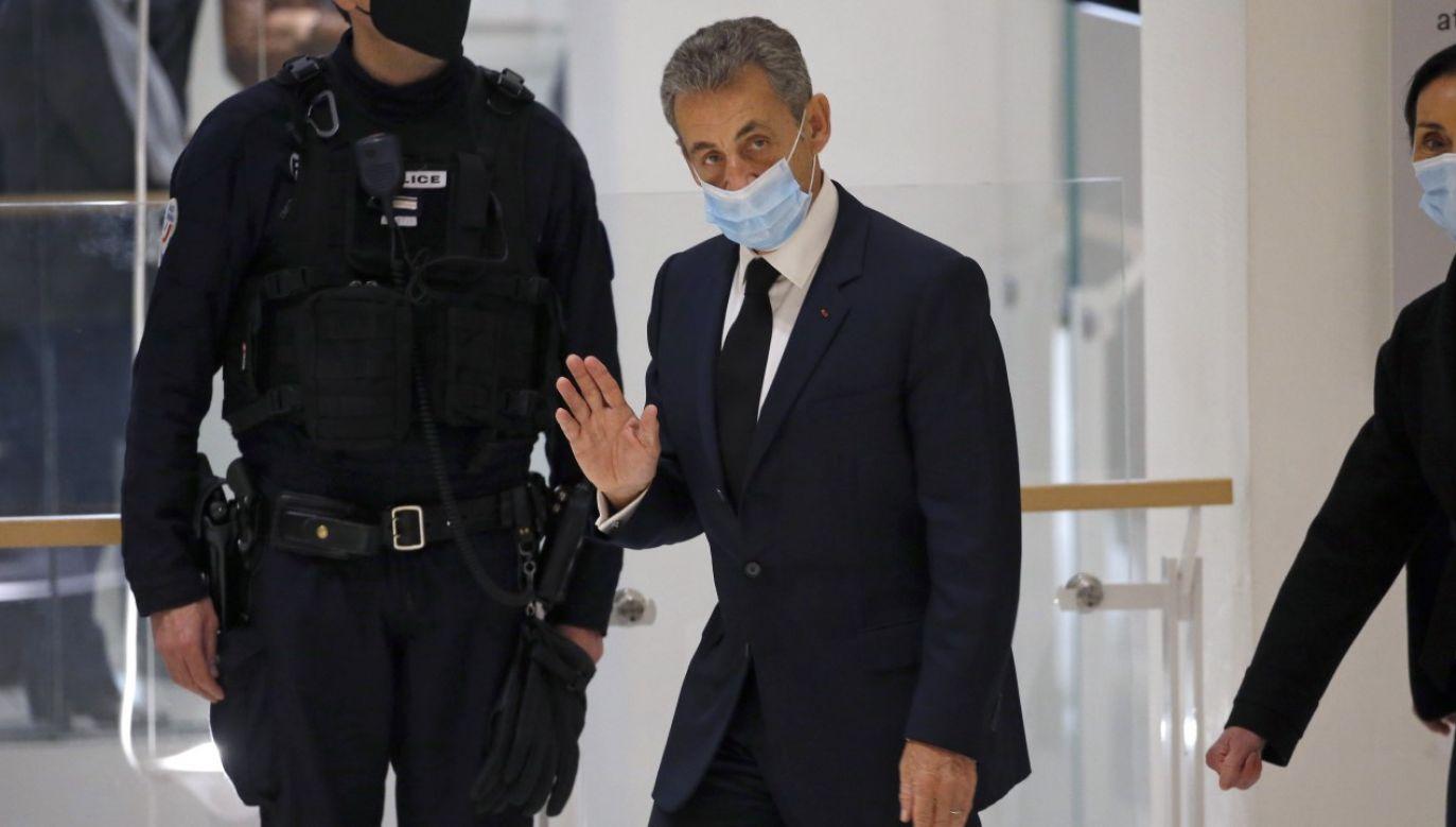 Były prezydent Francji Nicholas Sarkozy jest głównym podejżanym w sprawie korupcyjnej (fot. Chesnot/Getty Images)