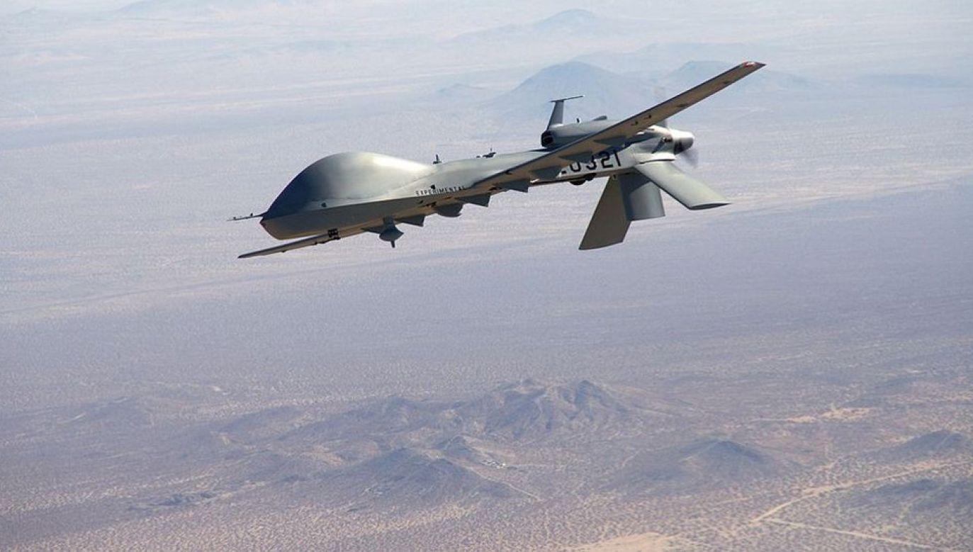 Amerykański dron MQ-9 miał zostać zestrzelony na południowy wschód od Sany (fot. Army.mil)