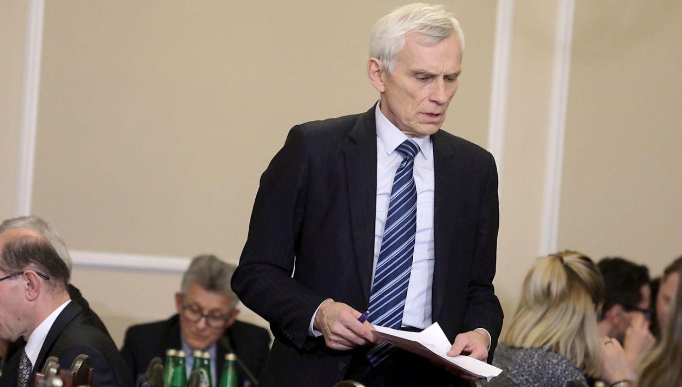 Marcin Święcicki był prezydentem Warszawy w latach 1994-1999 (fot. arch.PAP/Tomasz Gzell)