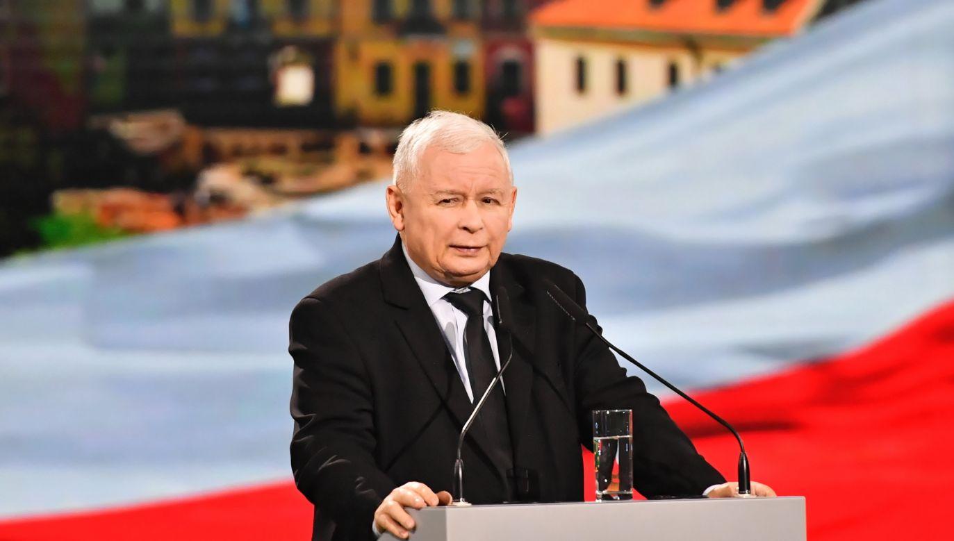 Jarosław Kaczyński wyjaśnia, czemu nie było go na zaprzysiężeniu Bronisława Komorowskiego w 2010 roku (fot. PAP/Wojtek Jargiło)